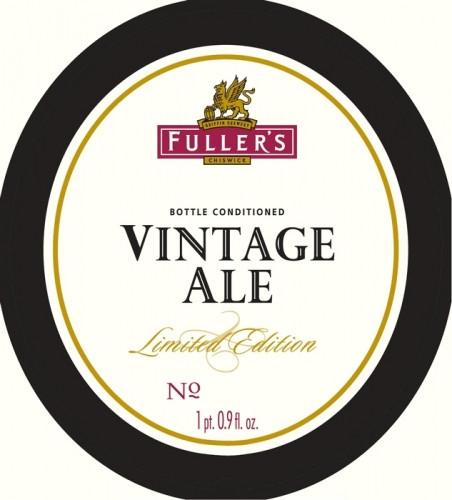eticheta Vintage Ale 2013