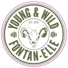 eticheta Young & Wild Fontan-Elle