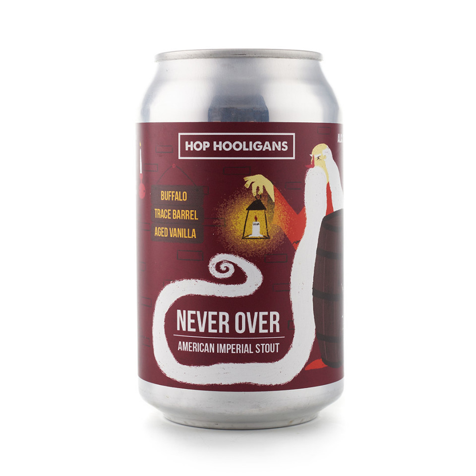produs Hop Hooligans Never Over: Buffalo Trace BA Vanilla