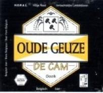 eticheta Geuzestekerij de cam Oude Geuze