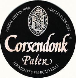 eticheta Corsendonk Pater Dubbel / Abbey Brown Ale