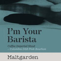 eticheta I'm Your Barista (Colombia DSB Pink Bourbon)