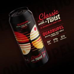 eticheta QUADRUPEL – CLASSIC WITH A TWIST