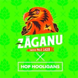 eticheta Zaganu India Pale Lager