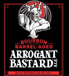 eticheta arrogant-consortia-bourbon-barrel-aged-arrogant-bastard