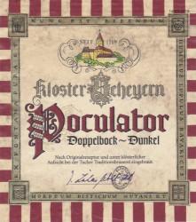 eticheta Tucher Brau Kloster Scheyern Poculator