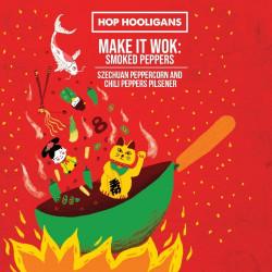 eticheta Hop Hooligans Make It Wok: smoked peppers