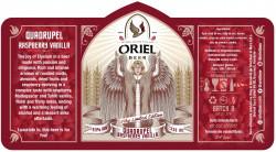 eticheta Oriel Quadrupel (Raspberry Vanilla)