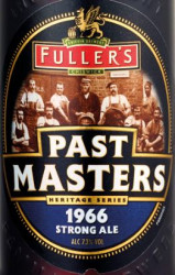 eticheta Past Masters 1966 Strong Ale