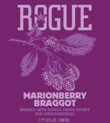 eticheta Rogues Ales Marionberry Braggot