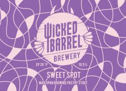 eticheta Sweet Spot - Marzipan Brownie