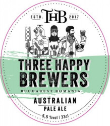 eticheta Australian Pale Ale