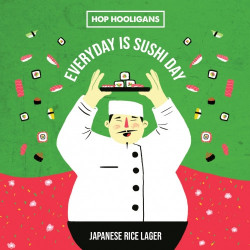 eticheta Every Day Is Sushi Day