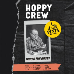 eticheta Hoppy Crew: Who's the Boss?