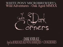 eticheta In Dark Corners