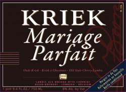 eticheta Boon Kriek Mariage Parfait