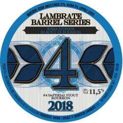 eticheta Lambrate Barrel Series #4 IMPERIAL STOUT BOURBON 2018