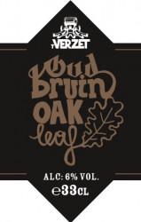 eticheta Oud Bruin Oak Leaf