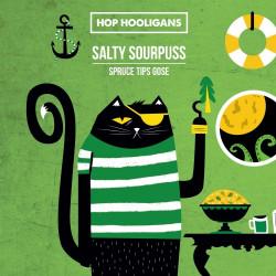 eticheta Salty Sourpuss: Spruce Tips