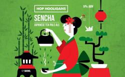 eticheta Hop Hooligans Sencha