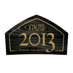 eticheta XYAUYÙ golden label- RISERVA 2013