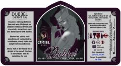 eticheta Oriel Dubbel (Merlot BA)