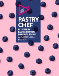 eticheta Pastry Chef: Blueberry Maple Muffin