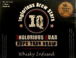 eticheta Inglorious Quad Whiskey Infused Batch #1 - The Belgian Owl