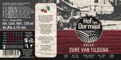 eticheta Kriek - Zure van Tildonk