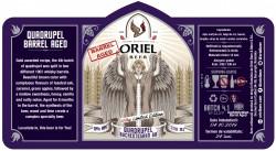 eticheta Oriel Quadrupel (Auchentoshan BA)