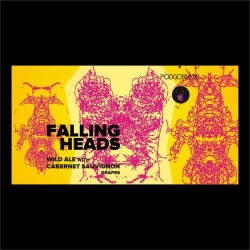 eticheta Falling Heads