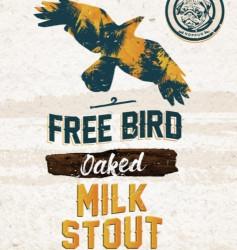 eticheta Free Bird Oaked Milk Stout