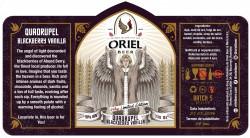 eticheta Oriel Quadrupel (Blackberry Vanilla)