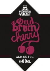 eticheta Verzet Oud Bruin Cherry (Harvest 2017)