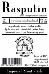 eticheta De Molen Rasputin / Moord & Doodslag