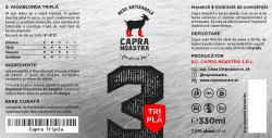 eticheta Capra Noastra Tripla