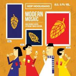 eticheta Modern Mosaic - Extreme Swag Edition