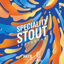 eticheta Speciality Stout Kostaryka