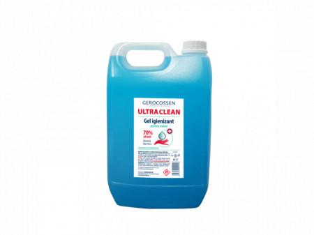 Gel igienizant pentru maini 70% alcool ULTRA CLEAN 5 litri Avizat Ministerul Sanatatii
