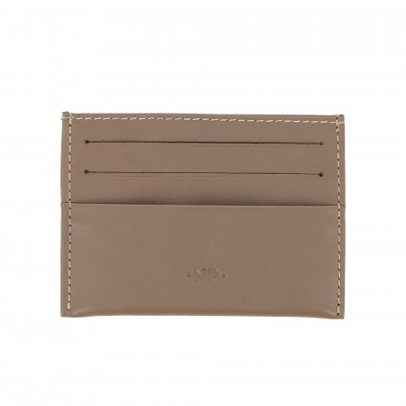 Nuvola Pelle Porta Carte di Credito Uomo Donna Sottile Tascabile in morbida Pelle Nappa con 6 tasche porta tessere