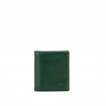 Nuvola Pelle Portafoglio Uomo Porta Carte di Credito Piccolo in Vera Pelle Tascabile da 8 tessere Porta Banconote