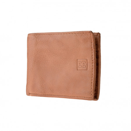 Portafoglio uomo pelle vissuto vintage porta carte di credito DUDU