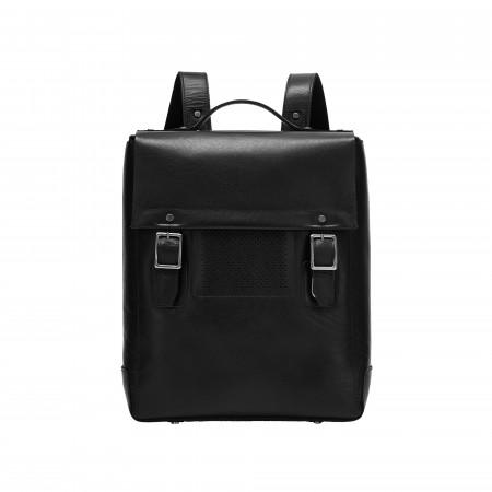 DUDU Zaino Uomo Porta PC Portatile Tablet Laptop in Vera Pelle Elegante da Lavoro Ufficio Viaggio