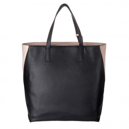 DUDU Shopping Bag donna Shopper grande in Vera Pelle a 2 manici Borsa a tracolla regolabile e staccabile