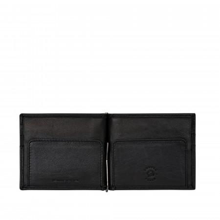 Nuvola Pelle Portafoglio Uomo Fermasoldi in Pelle Ferma Banconote con Tasche porta Carte Tessere