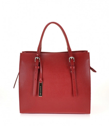 BORSA DONNA A MANO IN PELLE MONTINI AMBRA SMALL MADE IN ITALY