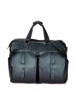 BORSA PROFESSIONALE IN PELLE MONTINI MANHATTAN GRAINY MADE IN ITALY