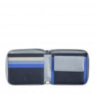 DUDU Portafoglio Donna Vera Pelle con Protezione RFID Porta Carte di Credito Piccolo Zip Around a Cerniera con Portamonete