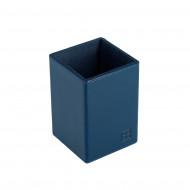 DUDU Set da Scrivania in Pelle per Ufficio 4 pz con Svuotatasche Porta Penne Porta Lettere Porta Block Notes