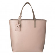 DUDU Shopping Bag donna Shopper grande in Vera Pelle a 2 manici Borsa a tracolla regolabile e staccabile